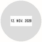 Textplatte für Colop Printer R 40-Dater