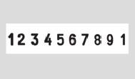 Ziffernbanddrehstempel mit Text Trodat Professional 55510/PL