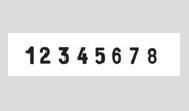 Ziffernbanddrehstempel Trodat Professional 5558/PL 4.0 mit Textplatte