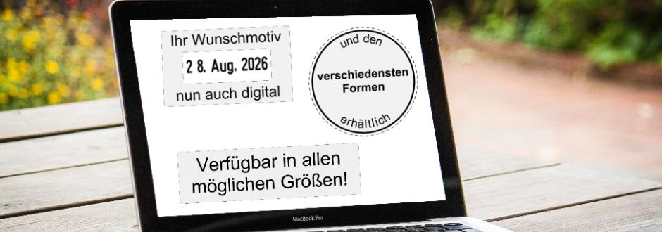 Einführung von digitalen Stempeln und Siegeln